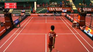 Andre Kurniawan JAYA RAYA SURYANAGA VS A. Rahmat Kurniawan SGS PLN BANDG