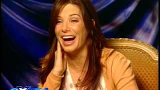 Sandra Bullock quizzed in Extra!