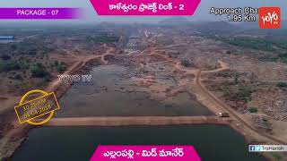 Presentation on Kaleshwaram Project Link 2 Works | Yellampally to Mid Manair | Telangana
