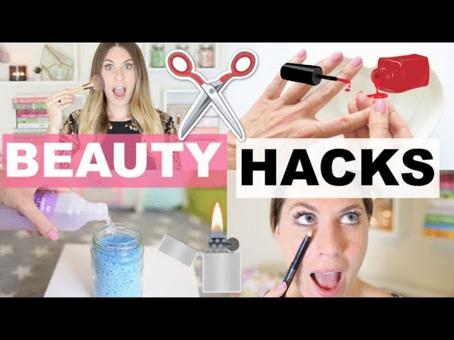 10 Beauty HACKS Everyone Should Know | Talk Becky Talk