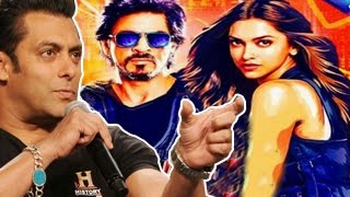 Salman Khans SHOCKING comment on Shahrukh Khans Happy New Year Official Trailer