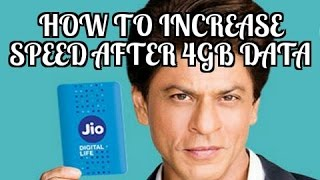 How to Increase Reliance jio speed with VPN After 4gb data Usage [speed increase][4gb data]]