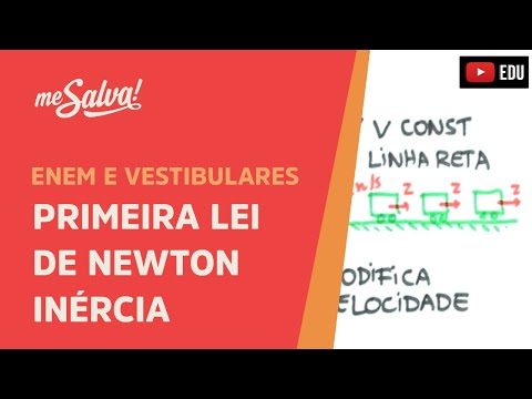 Me Salva! Primeira Lei de Newton - Inrcia