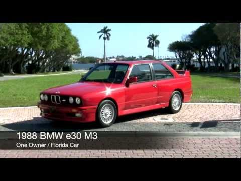 1988 BMW E30 M3 Red Community Auto Sales