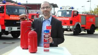 ABUS Feuerlöschsprays - hochwirksame Schaumlöschmittel