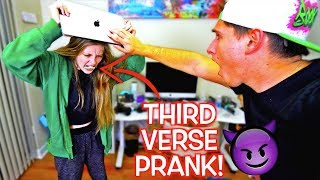 I LEAKED LOGAN PAUL'S THIRD VERSE PRANK ON GIRLFRIEND! **PRANK WARS GONE WRONG**