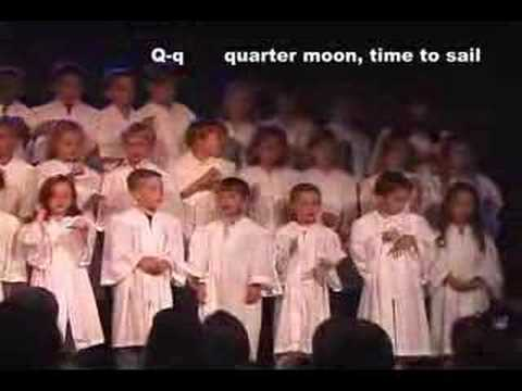 Florida Alphabet Song Scottsdale Academy Grads 2008 video