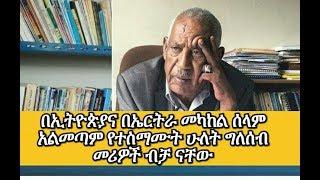 Aboy Sebhat about Ethio-Eritrea Peace