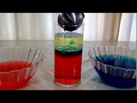 SchoolFreeware Science Video 5 - Density of Salt Water, Fresh Water And Oil