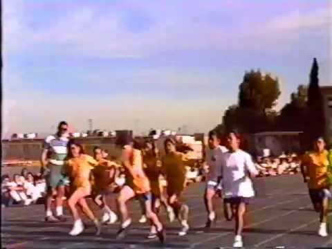 1992 1993 South Gate Middle School Video Yearbook Part 8
