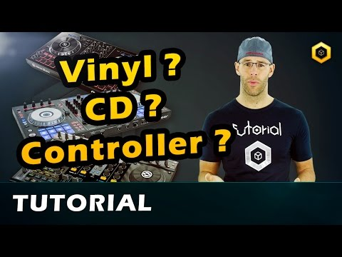How to DJ - 1 - Beginner Tutorial  Vinyl, CD, Controller // Deutsch