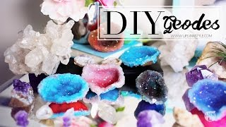 DIY Crystals w/ Polymer Clay | Home Decor | ANN LE