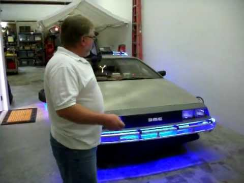 Delorean Time Machine 2015 Fly n Series with Hover Illusion by CEI