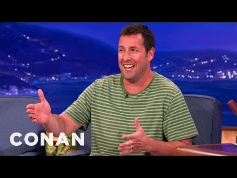Adam Sandler &amp; Jack Nicholson Bailed On The L.A. Lakers - CONAN on TBS