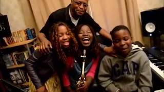 Gospel Music - 8 year old Alice plays Christian songs on  the alto saxophone.