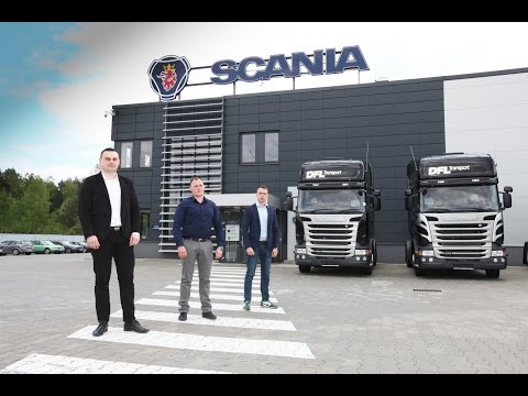 DFL Transport - Magazyn Scania W Polsce
