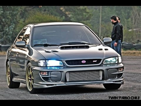 Subaru Sti Gc8 On Board Vs Gt R R35 Vs Others Night Of Street Racing Youtube