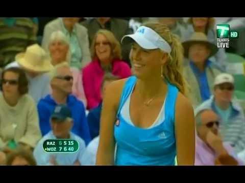 Caroline Wozniacki funny moments