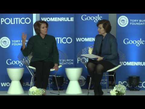 Women Rule Keynote: Minority Leader Nancy Pelosi
