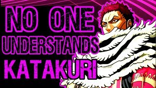 The Lonely Philosophy of Katakuri - The HERO of Whole Cake in One Piece (manga spoilers)