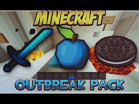 EL MEJOR TEXTURE PACK/PAQUETE DE RECURSOS PVP #7   Outbreak Pack Minecraft 1.8/1.8.8