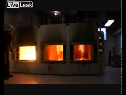 Como é a cremação de um corpo humano