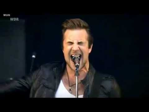 Royal Republic - All Because of You (Live at Area 4 Festival 19.08.2011)