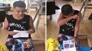 Download Lagu Boy Cries Over Surprise Bruno Mars Tickets Gratis STAFABAND