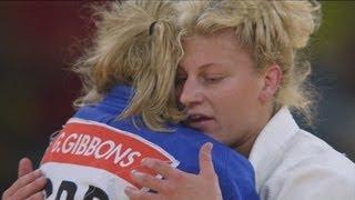 Kayla Harrison Wins Women's Judo -78kg Gold v Gemma Gibbons - London 2012 Olympics