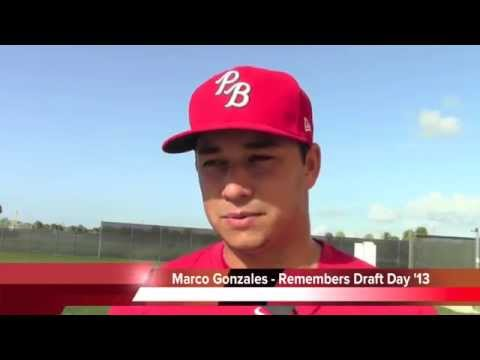 St. Louis Cardinals-Marco Gonzales MLB Draft to Debut 2014