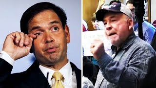 Marco Rubio Says People Are 'Rude & Stupid' at Town Halls; Chuck Grassley Confronted at Town Hall