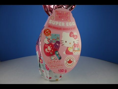 Easter 2015 Hello Kitty Super Egg - K & A Toy Reviews