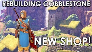 Dragon Quest XI How To Rebuild Cobblestone completely And Get New Shop Post Game Guide