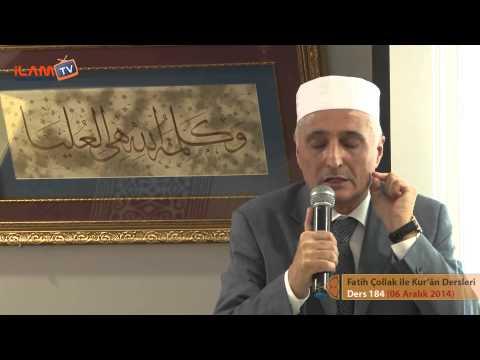 Kuran Dersi 184 - Fatih Çollak ile Kurân-ı Kerim Dersleri (Tâhâ Suresi 77-89. Ayetler)
