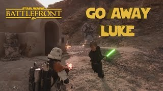 Starwars Battlefront - Funny Moments/ Fails/ Gameplay
