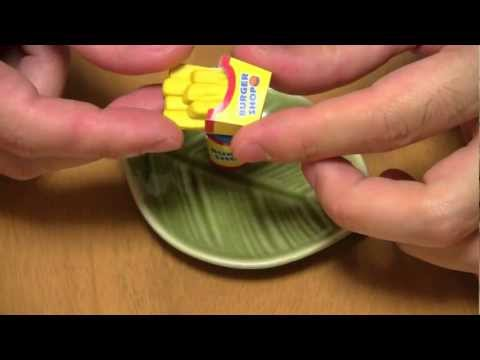 Make a Hamburger Eraser ~ 