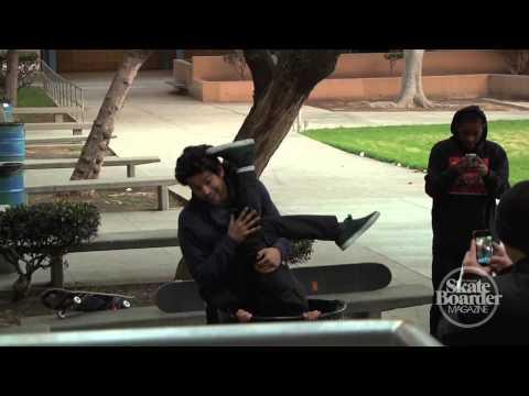 Skateboarder Magazine Warm Up Clip - Alex Midler