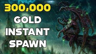 World Of Warcraft Gold Farm 300,000 Gold Instant Spawn Farm