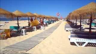 Praia de Monte Gordo Algarve, Portugal