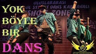 Istanbul Street Dance SHOW ZONE //MADYDANS hip hop team//