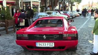 LOUD Ferrari 512 Testarossa start-up in Madrid