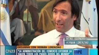 """""""La cadena del miedo se contraresta mostrando la realidad"""" - Hernán Lorenzino en El Destape.mp4"""