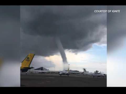 Bahamas hit by a tornado | CEEN News | June 16, 2016