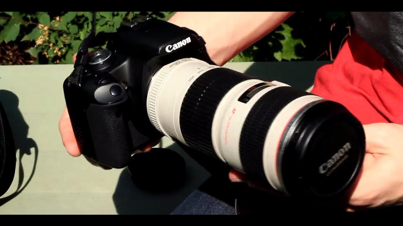 Lens 200mm Canon Canon ef 70-200mm F/4 l Usm