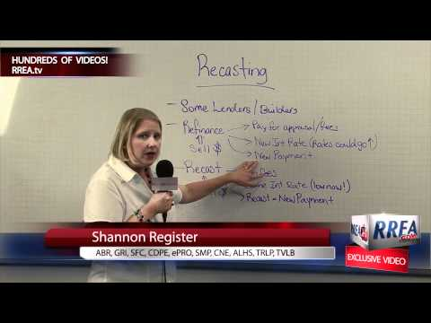 White Board Monday #64 - Recasting your Mortgage - Houston Real Estate