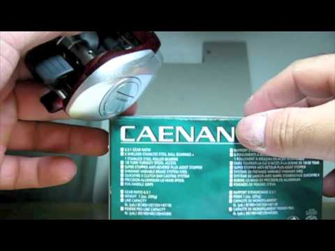 Fishing report - Shimano Caenan 101 Baitcast Reel Unboxing (TeamRippnLipz1) Video