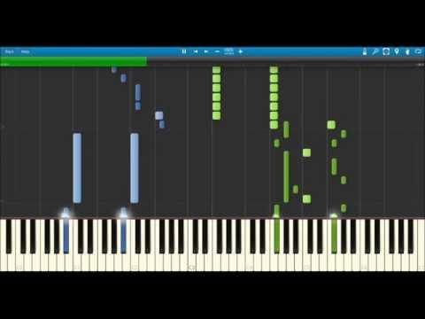 Naruto Shippuden Ending 33 Piano - Kotoba no Iranai Yakusoku [Synthesia] [Sheet DL]