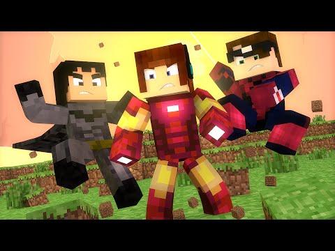 Minecraft: QUAL O YOUTUBER MAIS FORTE ?? - Batalha De Hérois Minecraft