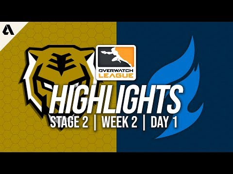 Seoul Dynasty vs Dallas Fuel | Overwatch League Highlights OWL Stage 2 Week 2 Day 1
