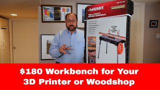 Maker Basics: The Best Low Cost Workbench / 3D Printing & Woodworking